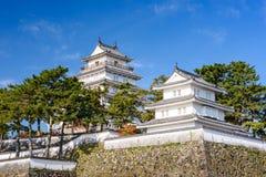 岛原市城堡在日本 库存图片