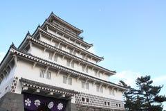 岛原市城堡城堡塔在长崎 库存图片