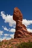 岩层在沙漠2 免版税库存照片