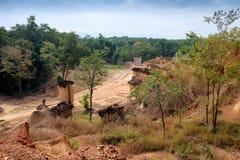 岩层在泰国 图库摄影