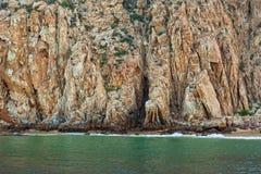 岩层在Cabo圣卢卡斯 图库摄影