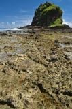 巨型岩层 免版税库存照片