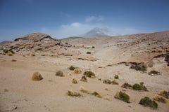 岩层,撒拉族de塔拉自然储备,圣佩德罗de阿塔岛 库存照片