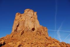 岩层,纪念碑谷,亚利桑那 库存图片
