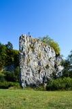 岩层Hrebenac 免版税库存图片