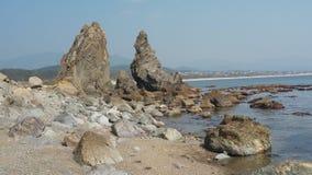 岩石三个姐妹 库存照片
