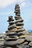 岩石交叠 图库摄影