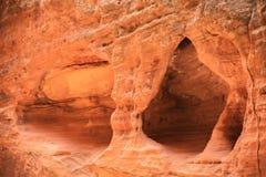 岩石侵蚀在锡安 库存照片