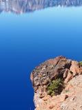 岩石俯视 免版税库存照片