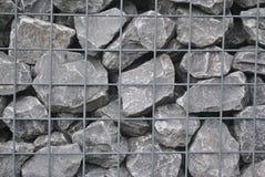 岩石关在监牢里 免版税库存图片