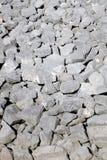 岩石冰砾背景 免版税图库摄影