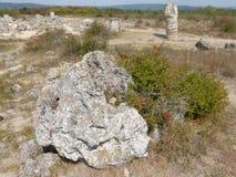 岩石冰砾 库存图片