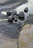 岩石卷 库存图片