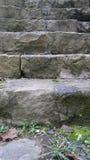 岩石台阶 免版税库存图片