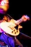 岩石吉他弹奏者 免版税库存图片