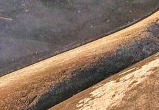 岩石和冰详细资料 库存图片