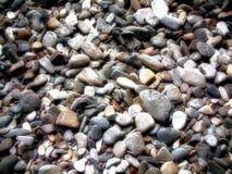 岩石和小卵石摘要 图库摄影