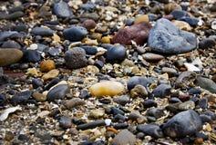 岩石和小卵石 库存图片