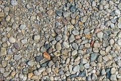 岩石和小卵石 免版税库存图片