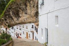 岩石和房子 库存照片