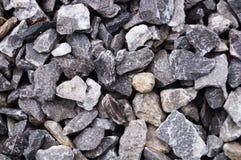 岩石和沙子背景 免版税库存照片