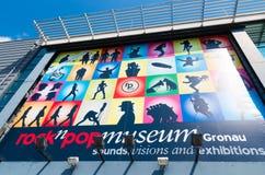 岩石和流行音乐博物馆Gronau 免版税库存照片