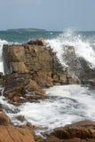 岩石和海岛13 免版税库存照片