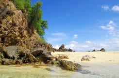 岩石和海运 库存图片