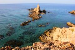 岩石和海运 免版税图库摄影
