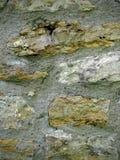 岩石和灰浆墙壁 免版税库存照片