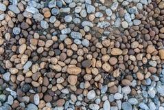 岩石和石头纹理样式背景 图库摄影
