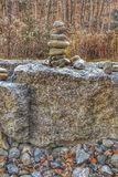 岩石和自然 免版税库存照片
