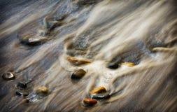 岩石和水,俄勒冈 免版税库存图片