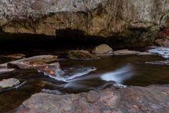 岩石国家公园小河 免版税库存图片