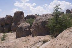 岩石国家公园,格兰特县新墨西哥城市 免版税库存图片