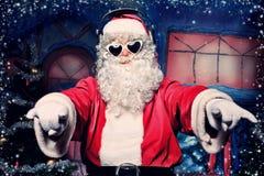 岩石圣诞老人 免版税库存照片