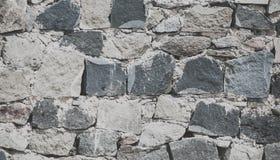 岩石在城堡的墙壁背景 库存图片