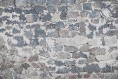 岩石在城堡的墙壁背景 免版税库存图片