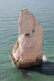 岩石在水中 免版税图库摄影