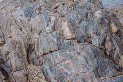 岩石在海边 免版税库存图片
