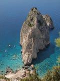 岩石在海6 图库摄影