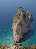 岩石在海5 免版税库存图片