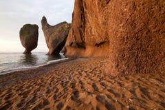 岩石在Primorye,俄罗斯 免版税库存图片