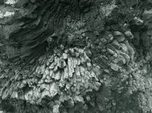 岩石在Ribeira da雅内拉,马德拉 免版税库存照片