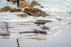 岩石在Saaidia 免版税库存图片