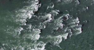 岩石在Skykomish河 股票录像