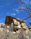 岩石地标 库存照片