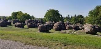 岩石城市 堪萨斯? 免版税图库摄影