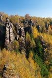 岩石城镇 库存图片