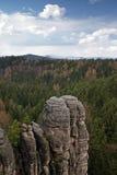 岩石城镇 库存照片